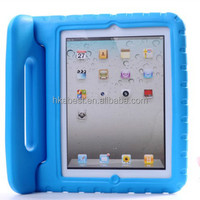 EVA kid case for ipad 2/3/4, EVA handle stand case for kid,For iPad Air 1 2 case for Children