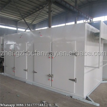 Industrial use large capacity batch production red chili red onion drying machine price