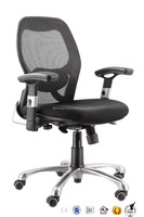 SX-W4028 Hot-sale aluminium back frame mesh task chairs/armrest lift adjusted mesh office chairs