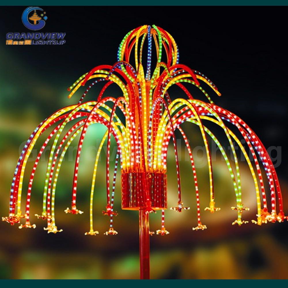 Outdoor colorful led christmas firework light sr buy
