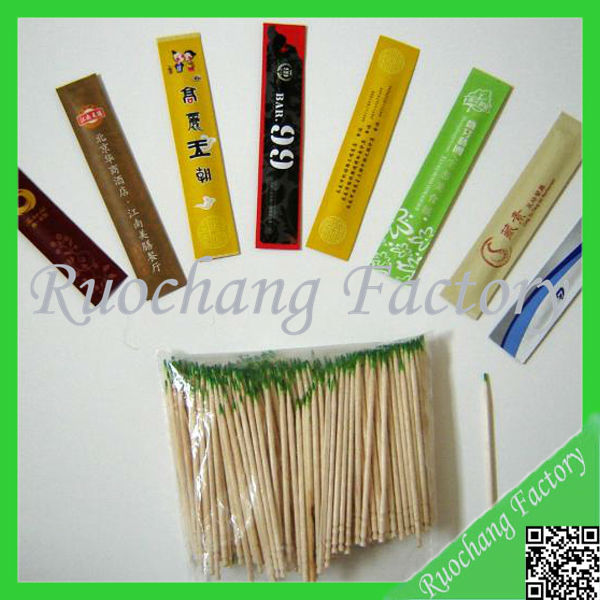 Toothpicks/high quality low price plastic tube packing mint bulk bamboo toothpicks suppliers