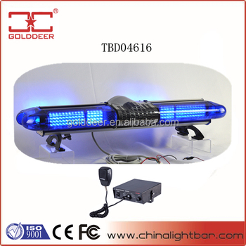 Car Led Lightbar Emergency Warning Light Bar for Police Car
