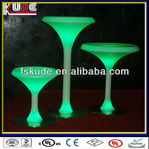 LED Luminous Bar Furniture Nail Bar/unique bar furniture/