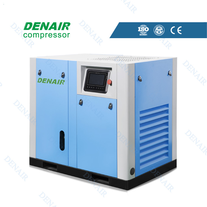Oil free water lubrication air compressor 11kw with single screw