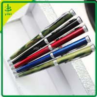 JDB--W123 promotional slim metal twist pen with logo metal promotional pens no maximum order