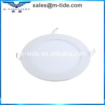 Promotion seasonal Round Glass Led panel downlight