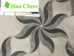 Marble floor patterns,marble tiles,waterjet marble tiles design floor pattern
