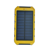 New product waterproof 8000mah solar mobile charger for ipad