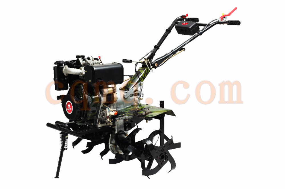 MeiQI 9hp 10hp 12hp 186 XE(luxrury handle with elec start) diesel engine power tiller new plow tiller