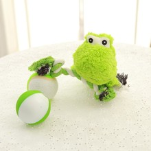 Customized Plush Stuffed Squeaky Pet Toys