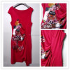 RED Casual Dress For Women DIGITAL