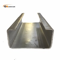ms steel q235 c purlin hot dip galvanized c channel steel price