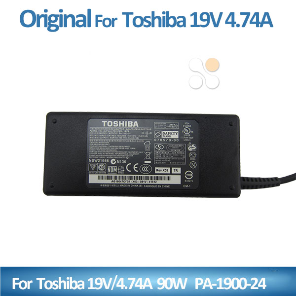 universal laptop charger pin 5.5*2.5mm for Toshiba 19v 4.74a 90w PA-1900-24