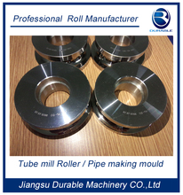 High precision stainless steel tube mill rolls /machinery mill roll D2 Materials