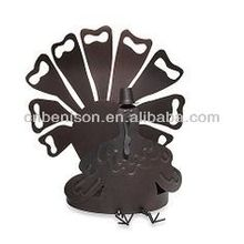 High quality tealight indoor turkey iron candle holder on transfer inflatable thanksgiving decorations