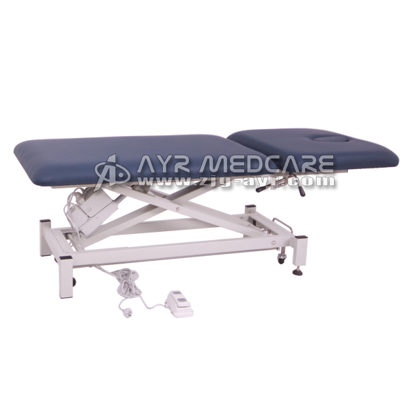 Two Sections Medical Electric Exam Table
