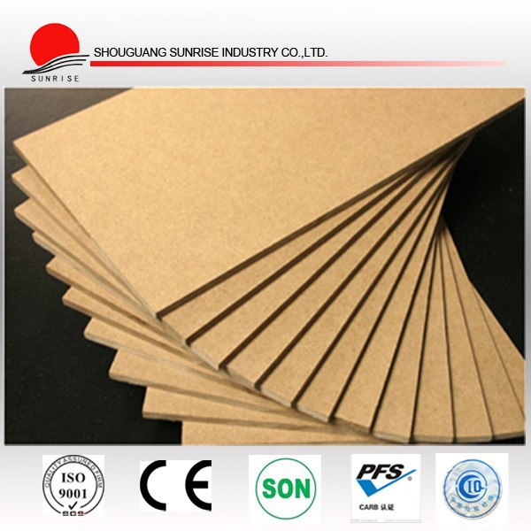 hot sale melamine mdf board / raw mdf cheap price from manufacturer