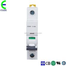 ACTI 9 Series IC65N circuit breaker 63 amp IC65N MCB 2 Pole 6A to 63A has passed CE, ROHS