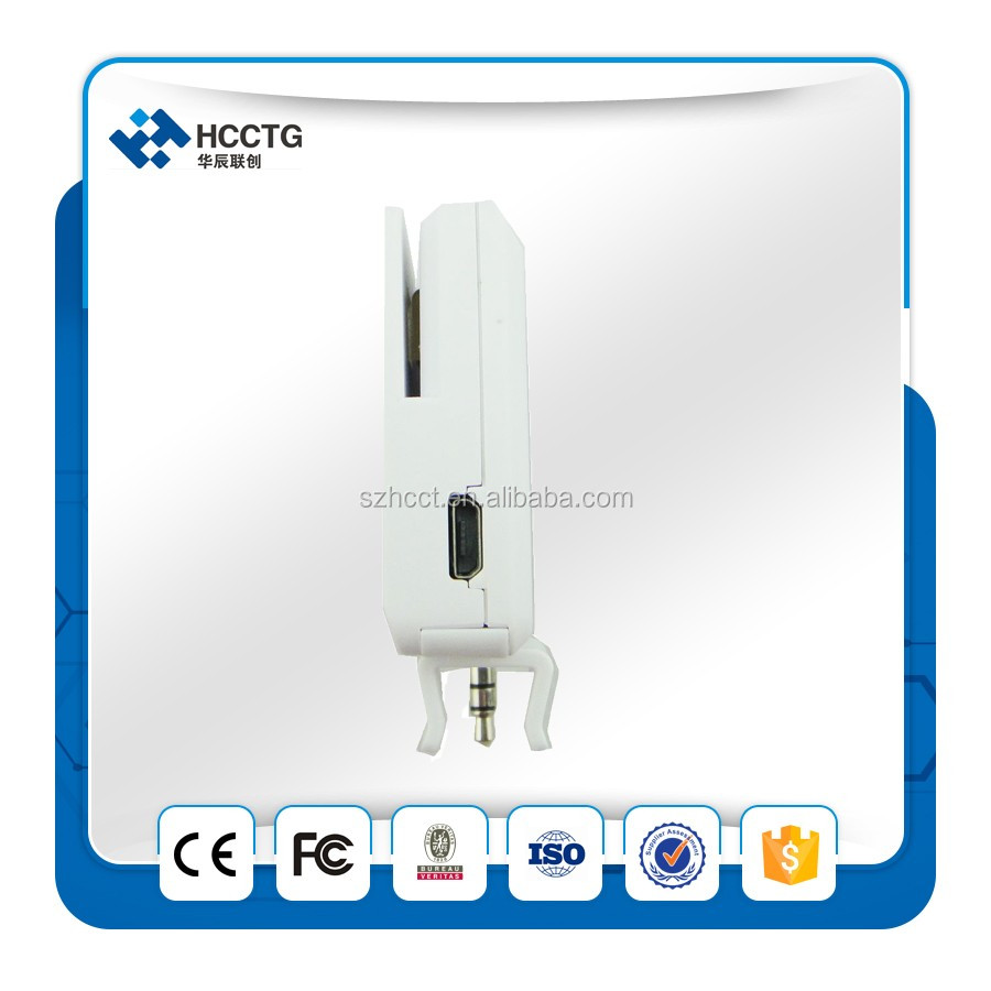 3.5mm Headphone Audio Jack Iphone Card Reader Chip Credit Card Swipe Machine Manufacturers ACR35