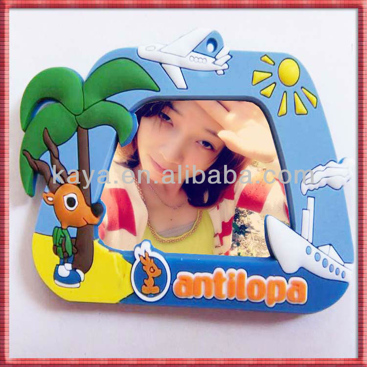 3D soft pvc photo frame for picture