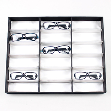 Eyeglasses Display Stand Rack Tray for 18 pcs