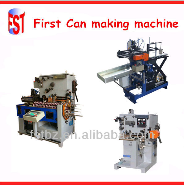 milk powder tin container making production line