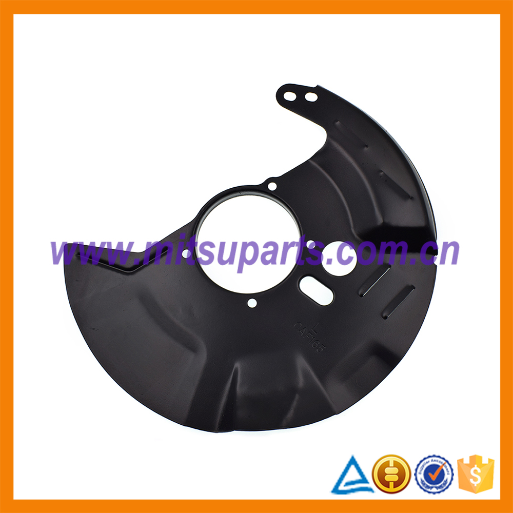 Front Brake Disc Cover For Mitsubishi Pajero Montero V32 V43 Space Wagon N34W N43W MR249345 MB618166 MB699396