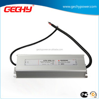 LPV-200 series 200W 12v,24v,36v,48v,IP67 AC/DC LED driver constant voltage waterproof switching power supply