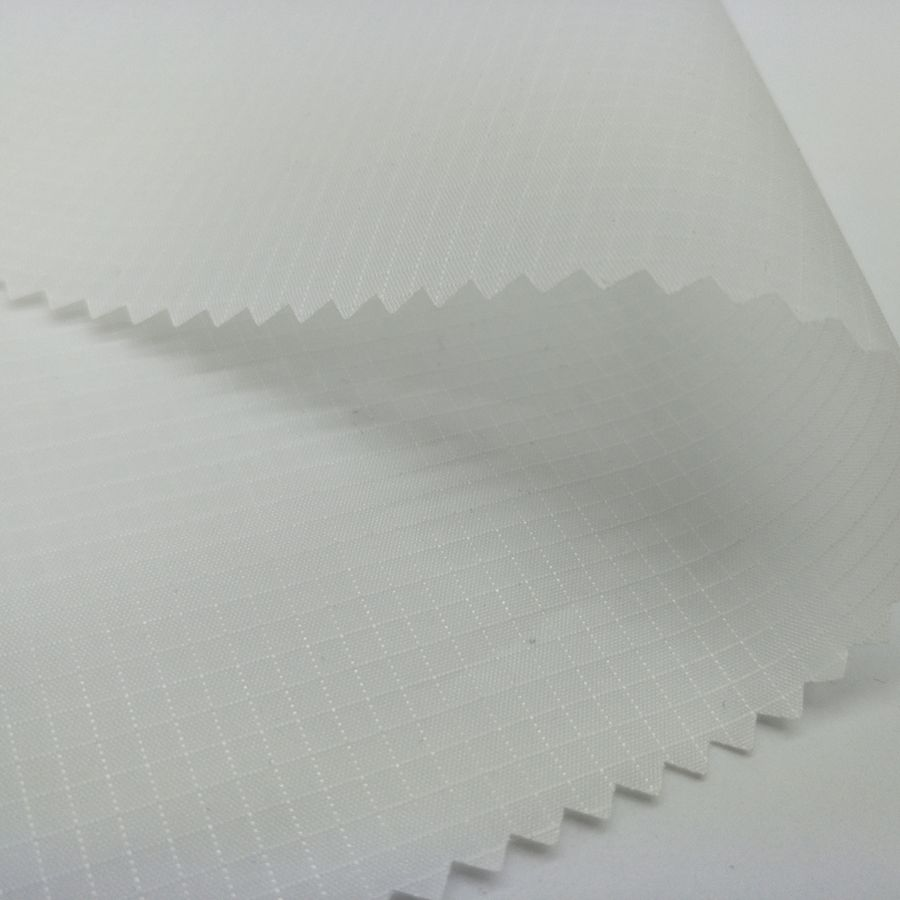 grid taffeta silicone fabric in 100 <strong>polyester</strong> for kites