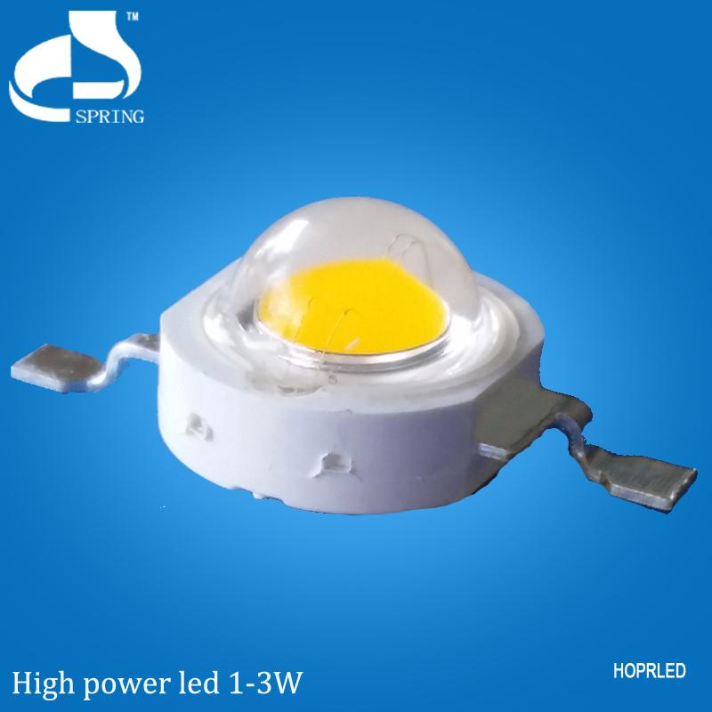 Good price led bulb 1W yellow high power good bright spots