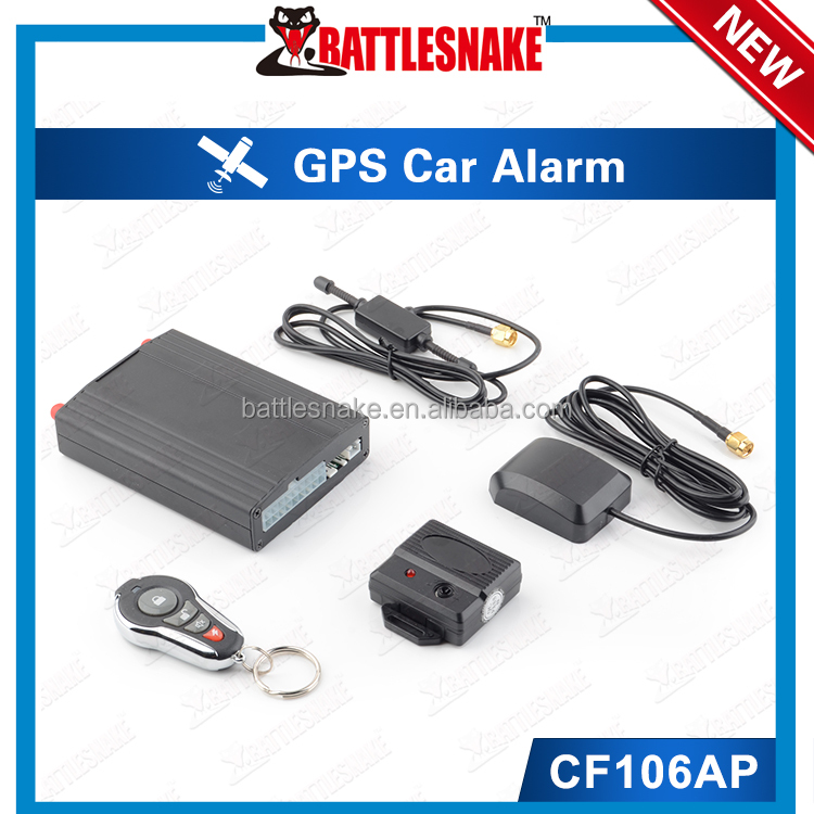New Arrival Functional GPS Tracker System Controlled by IOS and Android Phone App CF106AP