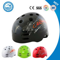 hot selling Eco-friendly Customized skating helmet/roller skate helmet with led lights