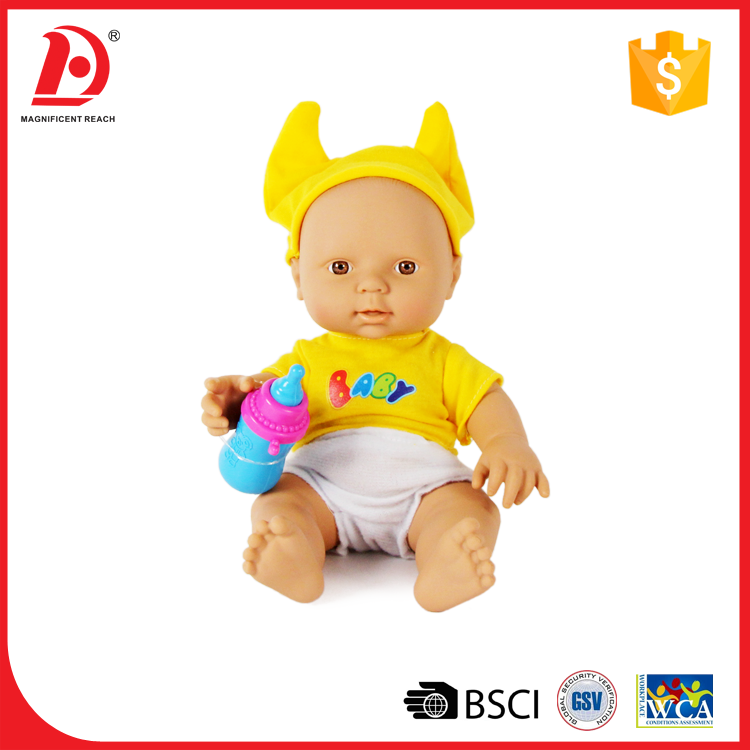 10 Inch mini reborn soft silicone baby dolls small silicone baby for sale