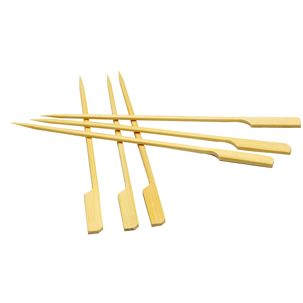 crazy selling discount roast meat bamboo gun skewers
