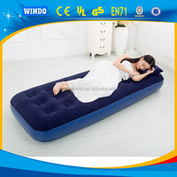 Single or double size inflatable air bed sea air mattress