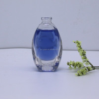 New designed hot sale 10 ml empty glass perfume bottle pendant