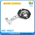 Factory combination handbag hardware bag lock for suitcase
