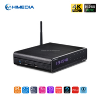 2016 Newest Himedia Q10 PRO quad core for Hotel IPTV Solution IPTV Box ANDROID 5.1 with full play store and internal HDD