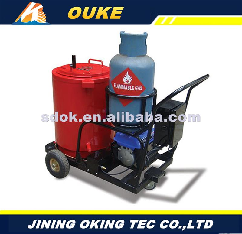 OKGF-50 micro laser welding machine 300w ce,road surface crack sealer