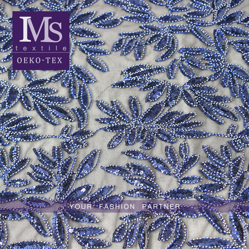 Latest wholesale fashion good quality chemical lace embroidery fabric