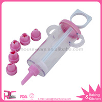 6pcs Good Qaulity Cake Decorating Set - Best Reusable Tool for Cupcakes and Cake