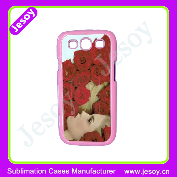JESOY 2D Sublimation for Samsung Galaxy S3 Case,Heat Transfer Phone Case Cover,Sublimation Mobile Phone Cover Case