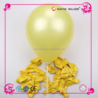 Round shaped advertising pearlized latex balloon