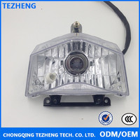 Motorcycle headlight for big light