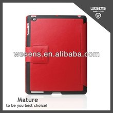 Super Slim Genuine Leather Tablet Case For Ipad 3
