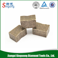 Cnc tool spare part diamond granite cutting segment