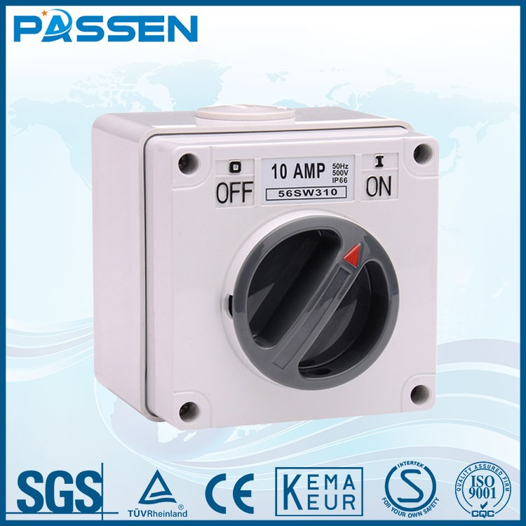 PASSEN Factory Price CE 13 amp switched socket