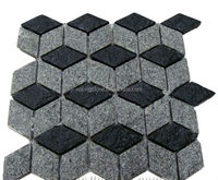 Granite Mesh Paving Stone, Hexagon Paver
