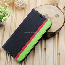 New Fashion Card Holder Magnet PU Leather Case Mobile Phone Case For iphone X
