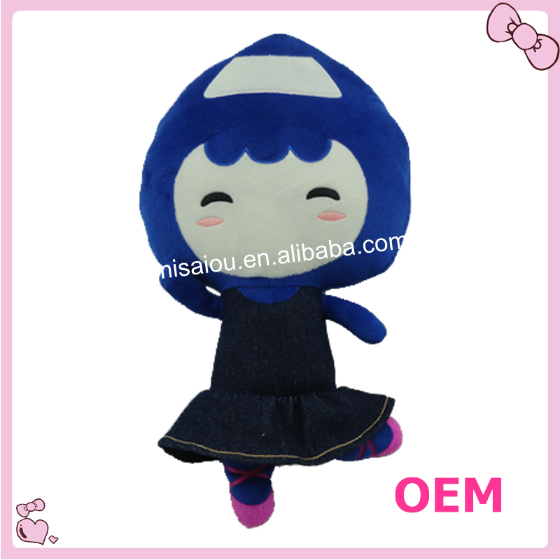 Customized Welcome Stuffed Doll Toy Plush Girl Toy